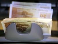 Экономика Латвии легла на дно