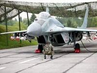 Столкнулись два белорусских истребителя МиГ-29