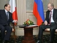 Путин и Берлускони договорились о строительстве АЭС в Италии