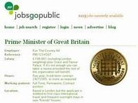 В Великобритании открылась вакансия премьер-министра