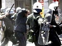 Первомайские акции в Европе закончились столкновениями с полицией