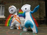 Лондон представил символы Олимпиады 2012