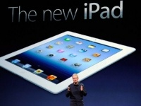 Presented by the new generation of iPad tablet