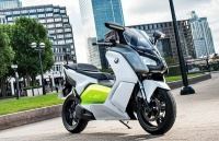 BMW представила первый электрический скутер