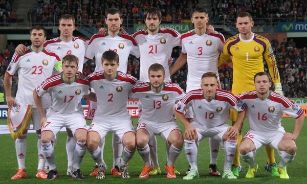Сборная Беларуси проиграла испанцам