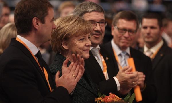 Меркель переизбрали главой Христианско-демократического союза