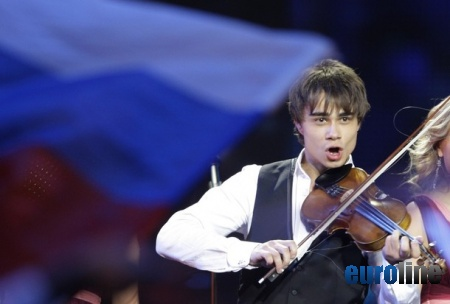 Александр Рыбак выиграл Евровидение (10 фото)