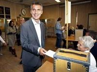 На выборах в Норвегии с небольшим отрывом победила правящая коалиция