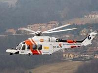 Cпасательный вертолет упал в море у берегов Испании