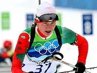 Дарья Домрачева завоевала первую медаль белорусской сборной на Олимпиаде в Ванкувере