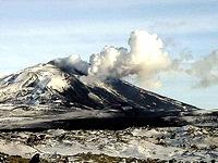 На юге Исландии началось извержение вулкана
