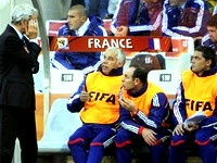 Сборная Франции вылетела с чемпионата мира в ЮАР