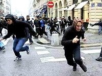 Убытки от забастовок во Франции превысили миллиард евро