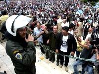 Всеобщая забастовка в Греции: не летают самолеты, не ходят поезда