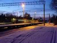 На севере Эстонии столкнулись поезда