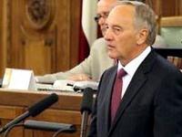 Президент Латвии отказался поддержать новую коалицию