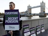 В Британии проходит массовая забастовка госслужащих