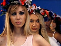 Активистки FEMEN пропали в Минске после акции у КГБ