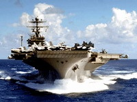 Американский авианосец покинул Персидский залив
