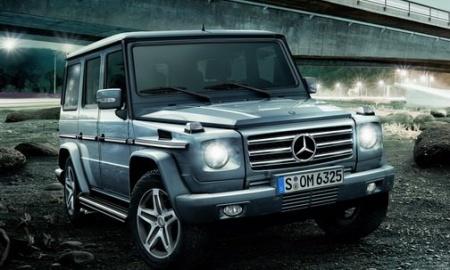 Новый Mercedes-Benz G-класс представят в начале лета