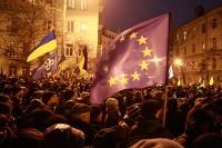Демонстранты перекрыли вход в кабмин Украины