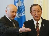 Пан Ги Мун не считает нужным вводить миротворцев ООН на Украину