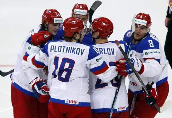 Сборная России разгромила команду США 6:1 на чемпионате мира по хоккею