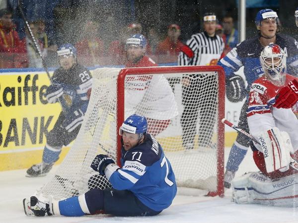 Финляндия вышла в финал ЧМ-2014, уверенно переиграв чехов