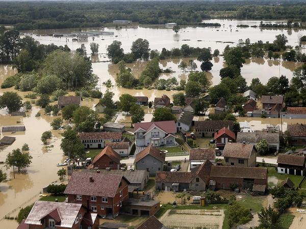 Власти Сербии оценили ущерб от наводнения в 1 млрд евро