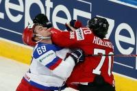 Россия разгромила Швейцарию в стартовом матче на ЧМ-2014 в Минске