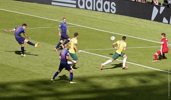 Голландия выиграла у сборной Австралии