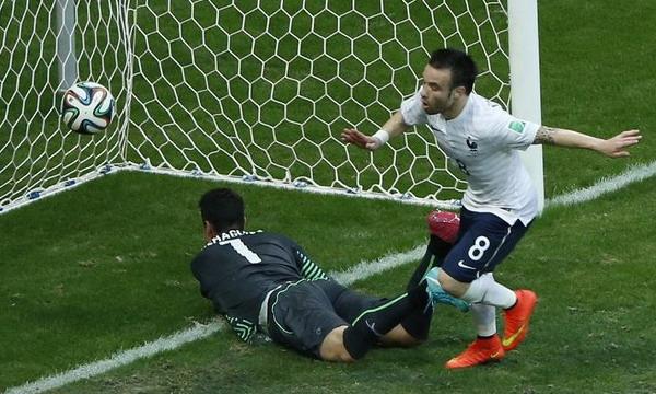Франция разгромила 5:2 Швейцарию на ЧМ-2014 по футболу