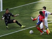 Англия сыграла вничью с Коста-Рикой в своём последнем матче на ЧМ-2014 по футболу