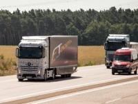 По дорогам Германии проехался робот-грузовик от Mercedes