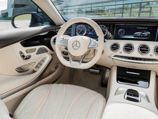 Представлено самое мощное купе Mercedes-Benz S-класса