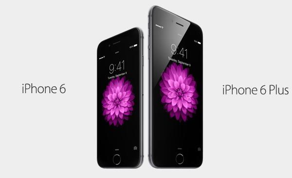 Apple представил новые смартфоны iPhone 6 и iPhone 6 Plus