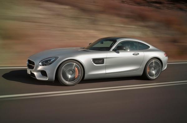 Спорткар Mercedes-AMG GT представлен официально