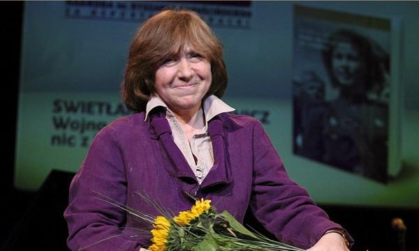 Букмекеры включили Светлану Алексиевич в число вероятных лауреатов Нобелевской премии по литературе