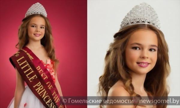 """9-летняя гомельчанка стала """"Маленькой Принцессой мира-2014"""""""