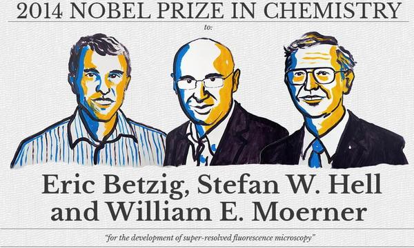Нобелевскую премию по химии вручат за флуоресцентную микроскопию