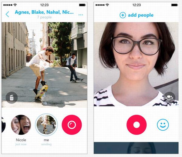 Представлен Skype Qik — сервис для обмена видеосообщениями