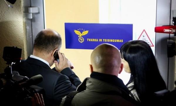 В офисе правящей партии Литвы начались обыски