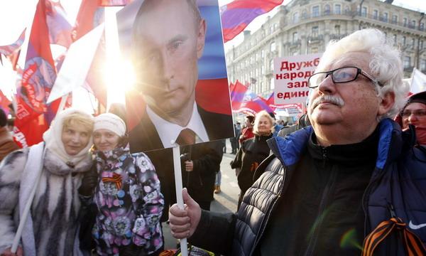 В Москве прошли марши националистов и проправительственный митинг
