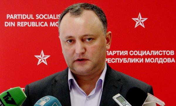В Молдове требуют наказать за сепаратизм лидера социалистической партии