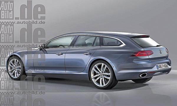 Volkswagen готовит конкурента  BMW 5 и Mercedes Е