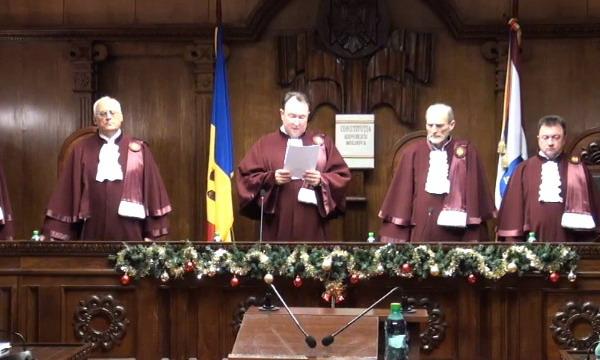 КС Молдовы утвердил результаты парламентских выборов