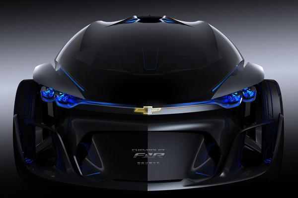 В Шанхае представлен футуристический беспилотный Chevrolet-FNR