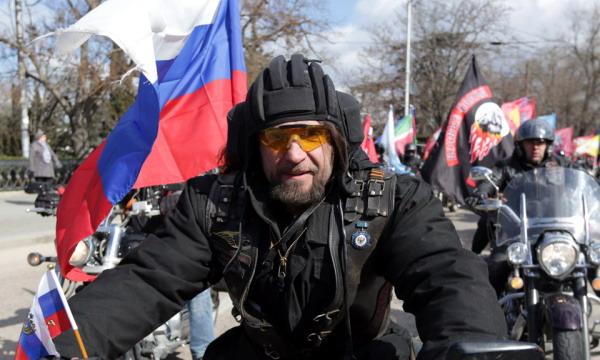 «Ночные волки» отправились в мотопробег из Москвы в Берлин