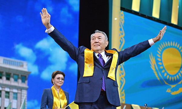 В Казахстане выбрали Назарбаева