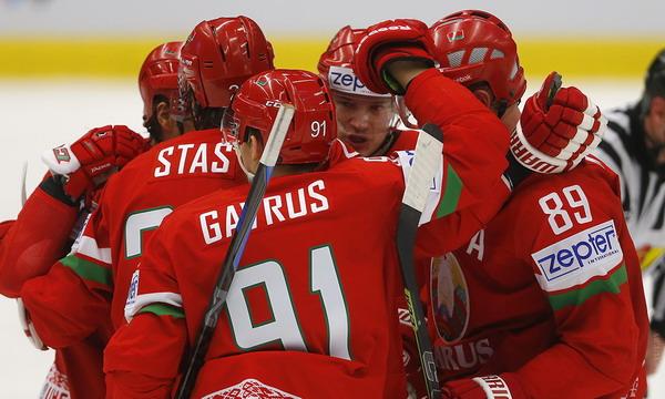 Белорусские хоккеисты начали ЧМ-2015 с победы над Словенией